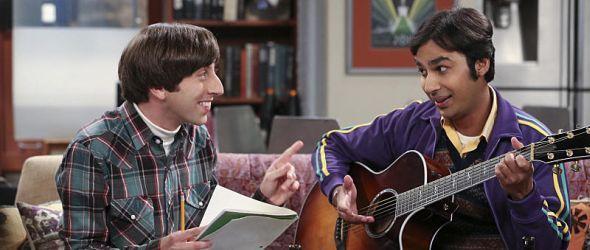 Howard und Raj planen als Band aufzutreten