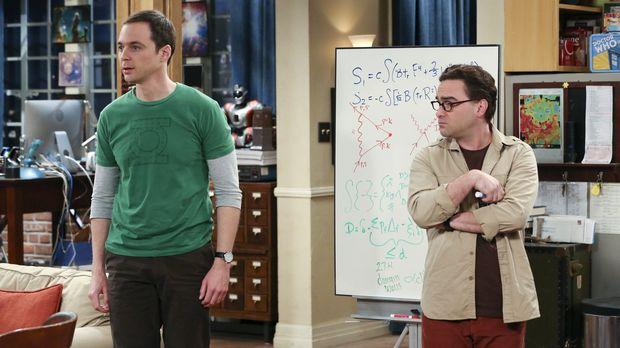 Sheldon glaubt er hat einen Ohrwurm