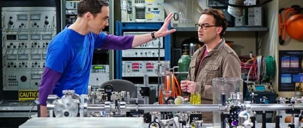 Sheldon Cooper und Leonard Hofstaedter im Labor