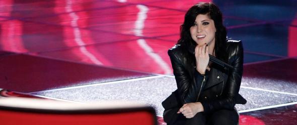 """Briana Cuoco bei """"The Voice"""""""