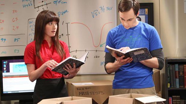 Sheldon und seine neue Assistentin Alex