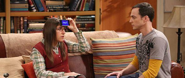 Amy und Sheldon spielen Wer bin ich?