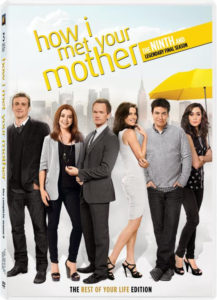 Offizielles DVD-Cover der 9. Staffel von How I met your mother