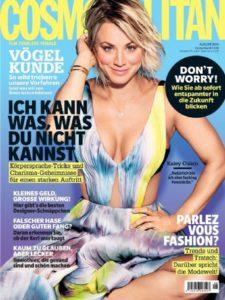Kaley Cuoco auf dem Cover der COSMOPOLITAN Deutschland - 2016