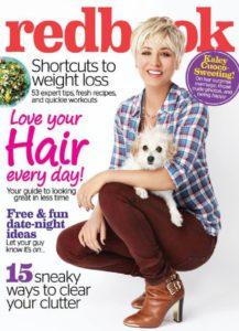 Kaley Cuoco auf dem Cover des redbook Magazins USA - 2015