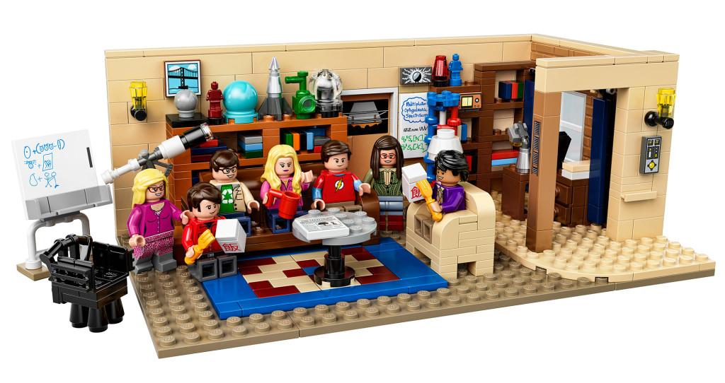 LEGO-Set der Nerd Clique