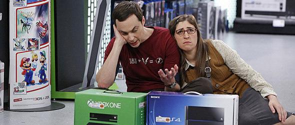 Sheldon kann sich nicht entscheiden