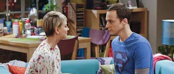 Sheldon spricht mit Penny