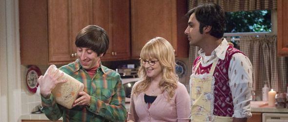 Howard, Bernadette und Raj überlegen was sie kochen