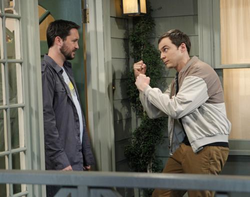 Sheldon will sich mit Wil prügeln