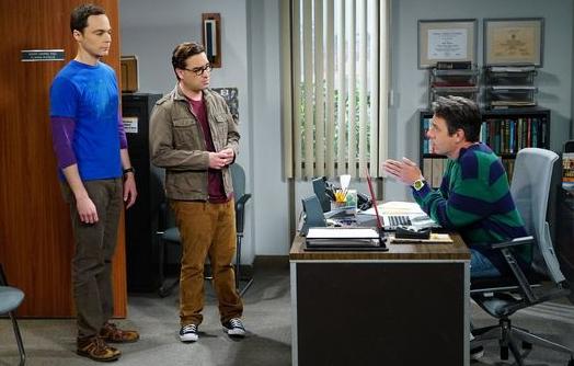 Leonard und Sheldon bitten Kripke um Hilfe
