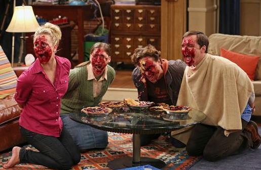 Leonard und Sheldon verlieren beim Spieleabend gegen Amy und Penny