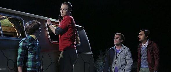 Sheldon versucht sich als Automechaniker