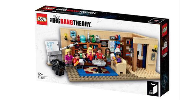 Verpackung The Big Bang Theory von LEGO