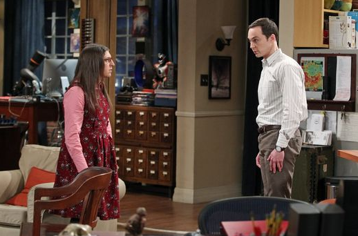 Amy und Sheldon streiten