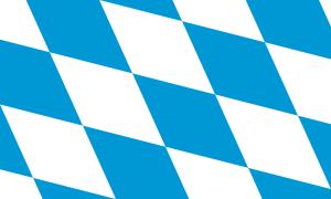 Bayerische Rautenflagge