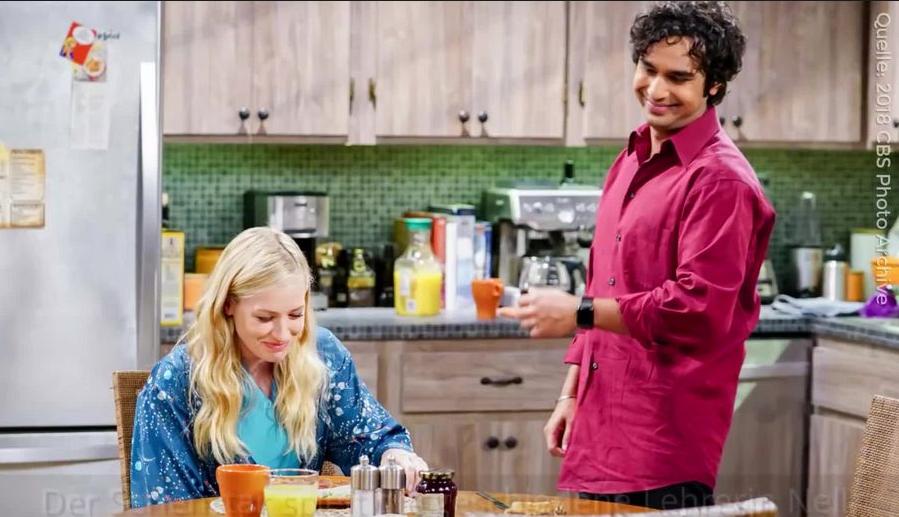 The Big Bang Theory Bekommt Gesellschaft Von Einem 2 Broke Girl