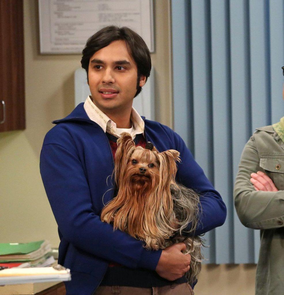 Raj und sein Hund Cinnamon