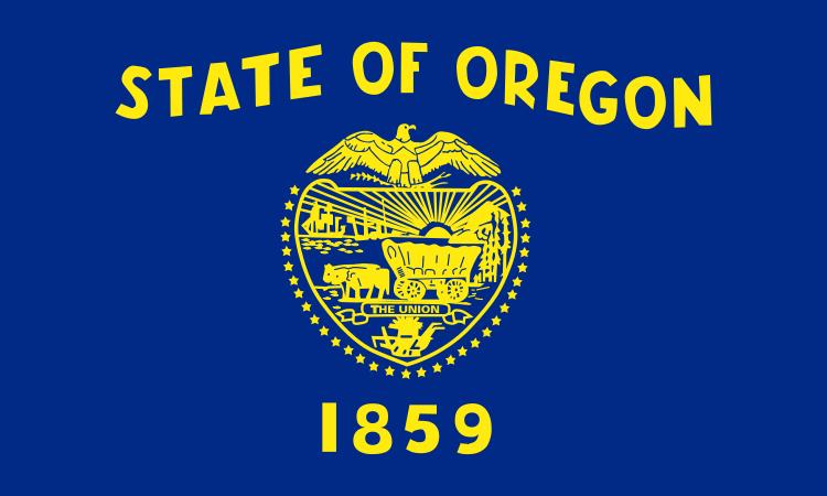 Landeswappen von Oregon 1859