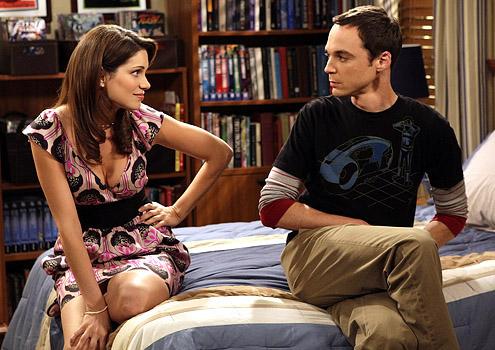 Sheldon und seine Schwester Missy