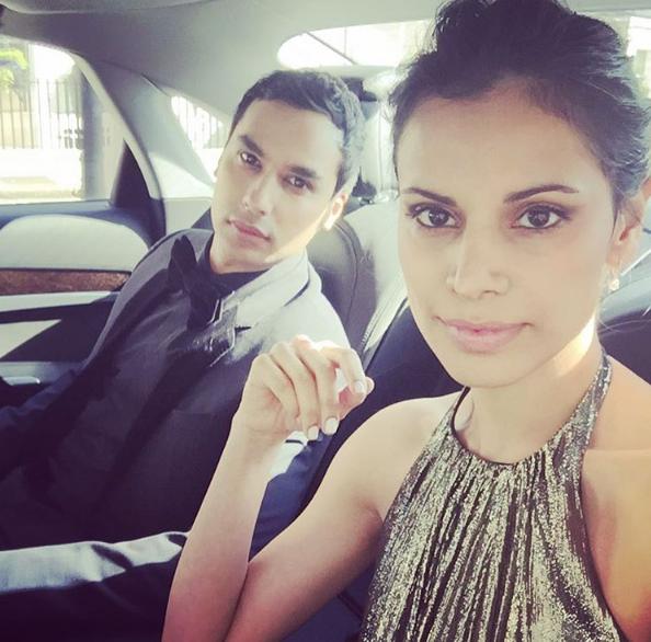 schauspieler Kunal Nayyar mit seiner Frau uns Miss India Neha Kapur