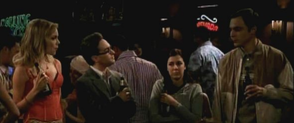 Ausschnitt aus der Pilotfolge von The Big Bang Theory