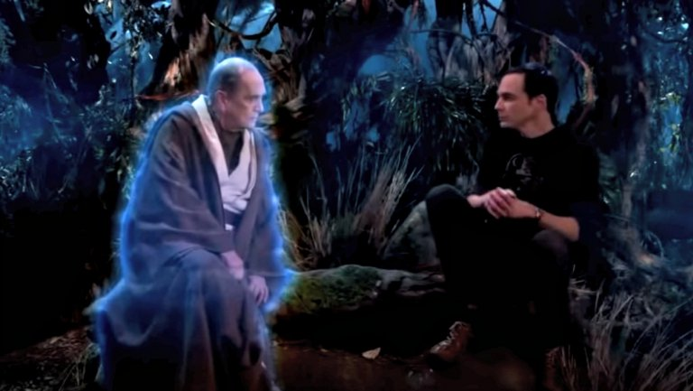 Professor Proton erscheint Sheldon