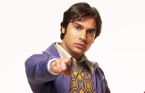 "Dr. Rajesh ""Raj"" Ramayan Koothrappali"