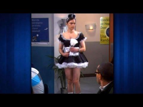 Sheldon verkleidet