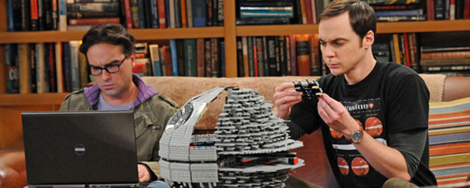 Sheldon bastelt einen Todesstern
