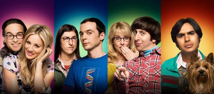 Offizielles The Big Bang Theory Banner von CBS