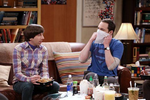 Sheldon und Howard beim Essen