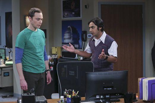 Sheldon und Raj haben eine Entdeckung gemacht