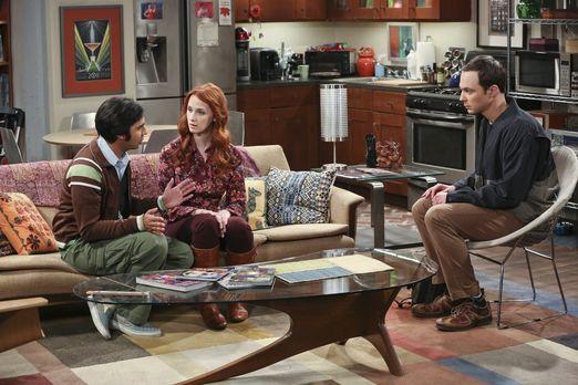 Sheldon entschuldigt sich bei Raj und Emily