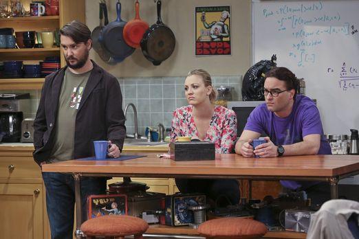 Die Drei stauen über Sheldons Worte beim Interview