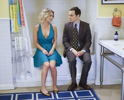 Penny baut Sheldon wieder auf