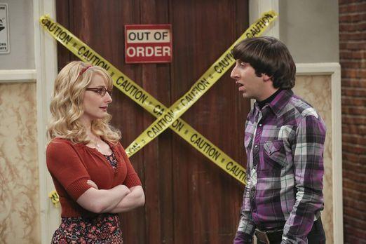 Howard bittet Bernadette um ihr Einverständnis
