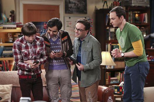 Ausschnitt aus der The Big Bang Theory Folge Premierenfieber