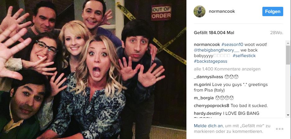 Alle Schauspieler von The Big Bang Theory