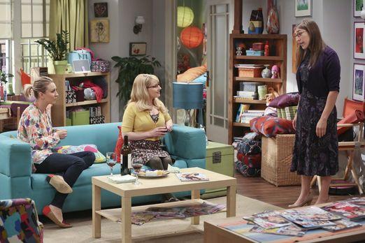 Amy hat ein Date, möchte Penny und Bernadette aber nichts verraten
