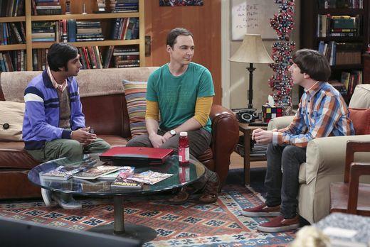 Sheldon bittet Howard und Raj um Hilfe