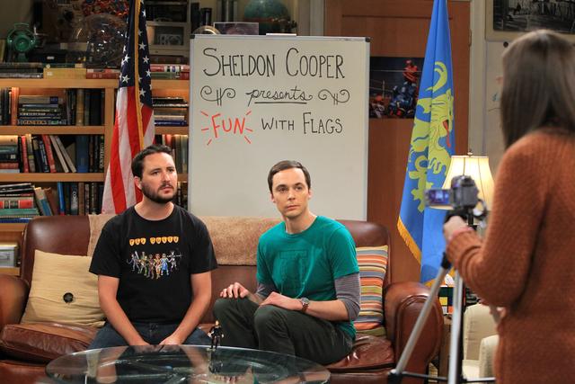 Wil soll Sheldon bei Spaß mit Flaggen helfen